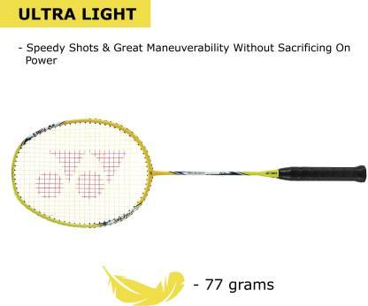 Yonex ARCSABER 71 LIGHT Red Strung Badminton Racquet